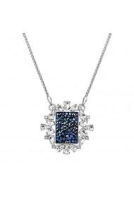 Colier cu cristale Swarovski FaBOS  Bermuda blue 7430-5729-03
