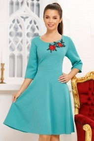 Rochie Betania Teal