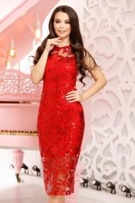 Rochie Chione Red