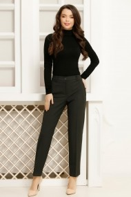 Pantaloni Violeta Gri-Negru