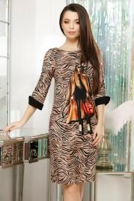 Rochie Miranda cu imprimeu fashion
