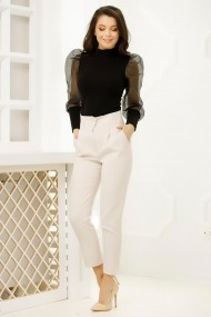 Pantaloni Irina Ivory