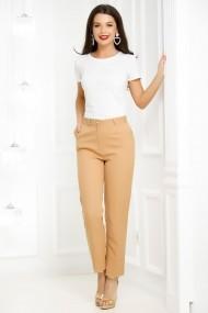 Pantaloni Elah Cream