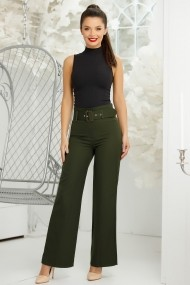 Pantaloni Marisa Kaki