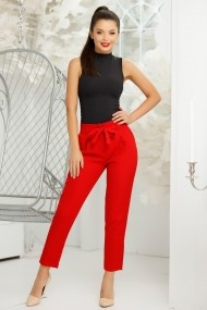 Pantaloni Alima Red