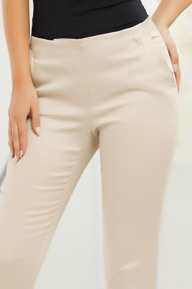 Pantaloni Filipa Nude