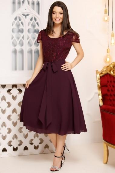 Rochie Elia Purple