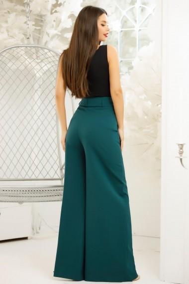 Pantaloni Chloe Turcoaz