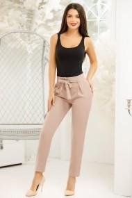 Pantaloni Alima Nude