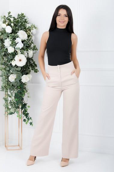 Pantaloni Divya Ivory