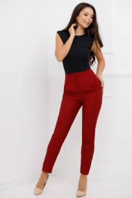 Pantaloni Hazel Bordo