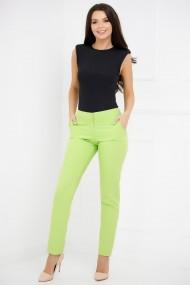 Pantaloni Angelica verde lime