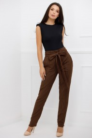 Pantaloni Kalista Brown