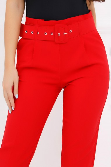 Pantaloni Findy Red