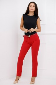 Pantaloni Kary Red