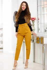 Pantaloni Kirima Mustar