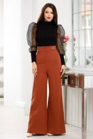 Pantaloni Chloe caramizii