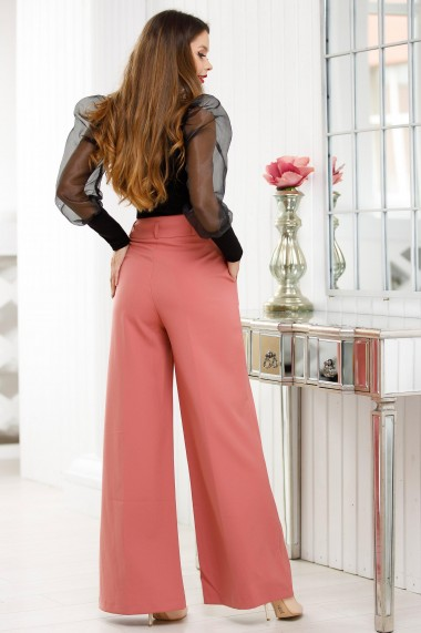 Pantaloni Chloe roz prafuit