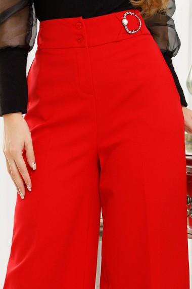 Pantaloni Chloe Rosii