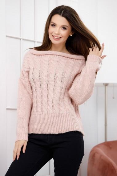 Pulover Melinda roz pastel