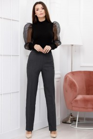 Pantaloni Rosa gri inchis
