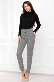 Pantaloni Viviana cu model pepit