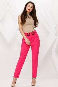 Pantaloni Azaria roz