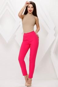 Pantaloni Paulina roz fucsia