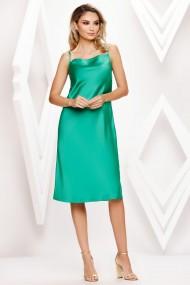 Rochie de seara midi Ejolie verde