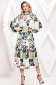 Rochie de zi lunga Ejolie cu imprimeu floral