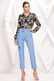 Pantaloni Joana bleu
