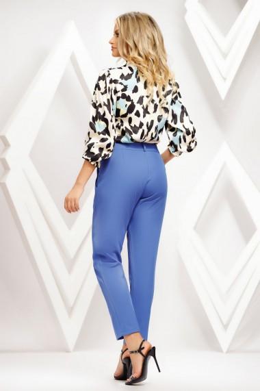 Pantaloni Kaya albastri