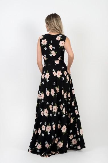 Rochie Pauletta Lily lunga cu imprimeu floral