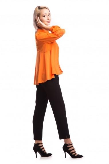 Camasa Tinka cu guler mao oranj