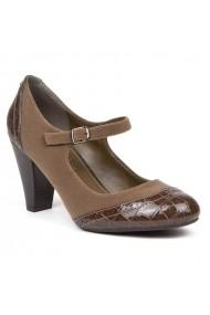 Pantofi cu toc Carolina Boix Maro 50521 Maro