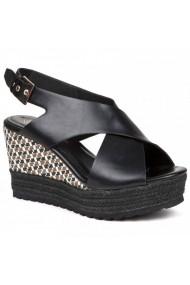 Sandale cu toc Carolina Boix Negru 51451 Negru