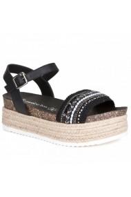 Sandale cu toc Carolina Boix Negru 51544 Negru