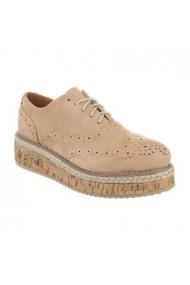 Pantofi Carolina Boix Kaki 99-50 Kaki