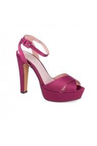 Sandale cu toc Carolina Boix Lila 61272 Lila