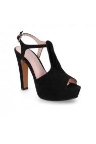 Sandale cu toc Carolina Boix Negru 61274 Negru