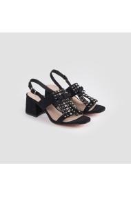 Sandale cu toc Carolina Boix Negru 61192 Negru