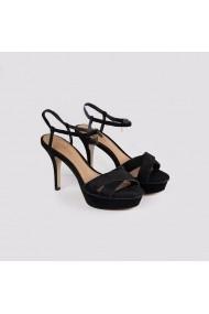 Sandale cu toc Carolina Boix Negru 4111163 Negru