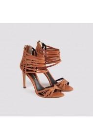 Sandale cu toc Carolina Boix Nude 4110000 Nude