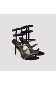 Sandale cu toc Carolina Boix Negru 4111279 Negru