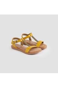 Sandale plate Carolina Boix Mustar 451/033 Mustar