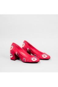 Pantofi cu toc Carolina Boix Rosu 60095 Rosu