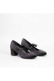 Pantofi cu toc Carolina Boix Negru 60074 Negru