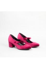 Pantofi cu toc Carolina Boix Bordo 60074 Bordo