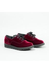 Pantofi Carolina Boix Bordo 60029 Bordo