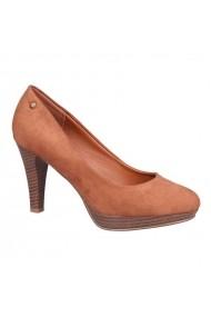 Pantofi cu toc Carolina Boix Bej 50250 Bej